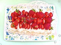 Kakor och Drömmar - Bästa jordgubbstårtan. Fika, Strawberry, Favorite Recipes, Sweets, Homemade, Fruit, Tarts, Desserts, Mince Pies
