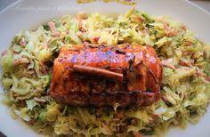 Salteado de Couves com Bacon e Roasted de Peru - http://gostinhos.com/salteado-de-couves-com-bacon-e-roasted-de-peru/