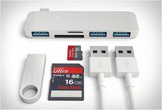 A Satechi apresentou um novo USB-C Adaptador, o Satechi Type-c Usb Hub, que combina perfeitamente com o seu novo MacBook, dando-lhe todas as entradas que você precisa. O novo MacBook vem com uma única entrada USB, mas isso não significa que você