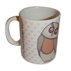 Sleeping Owl Mug