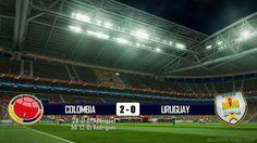 COLOMBIA - URUGUAY 2-0 - MONDIALI BRASILE 2014 - 28-6-2014 - SCHEDA TECNICA