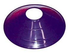 "7 3/4 Purple Saucer Field / Half Cone Markers - 1 Dozen: ""Bright, colorful, low-profile """"half-cones""""… #Sport #Football #Rugby #IceHockey"