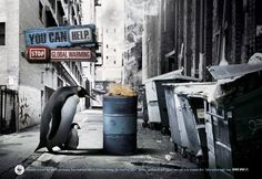 The WWF is best known for tackling conservation, restoration of the environment and research. It is not as well known for its creative advertising. Wwf Poster, Poster On, Photomontage, Global Warming Poster, Abstract Digital Art, Great Ads, Creative Advertising, Advertising Agency, Ad Design