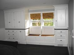 built in dressers for bedroom | Built-in Dressers