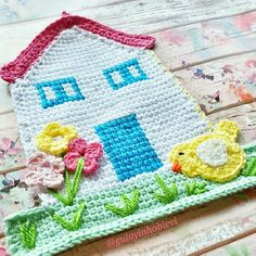 Crochet my house