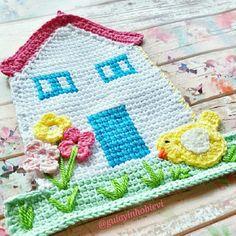 Crochet my house