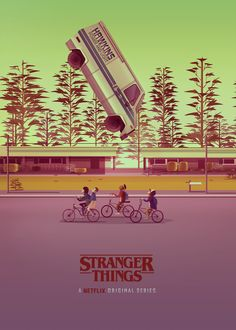 "Echa un vistazo a este proyecto @Behance:""STRANGER THINGS"" https://www.behance.net/gallery/57027513/STRANGER-THINGS"