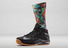 BMF Style: Nike LeBron Elite Digital Ink Sock