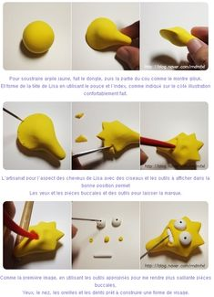Turorial : How to make The Simpsons polymer clay / Tutoriel : Réaliser la famille Simpson en pâte polymère Barth : 60 minutes Homer : 120 minutes Marges : 145 minutes Lisa : 75 minutes Maggies : 50 minutes Cochon : 25 minutes source : http://blog.nav...