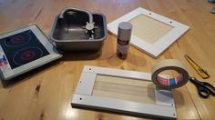Vorbereitung Mikrowellen- und Backofentür Ikea DUCKTIG Hack
