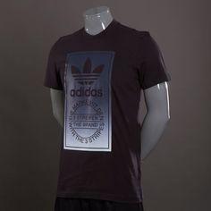 f4150738c adidas Originals Tongue Label Fade T-Shirt - Mens Select Clothing - Black  Adidas Originales