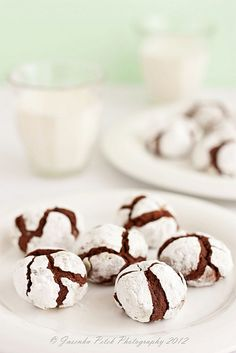 Chocolate crinkles by Sweet Corner1, via Flickr