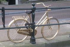It looks like our bikes are made of gold, you have to chain them carefully to prevent them from being stolen