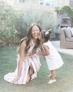 Tamera Mowry and daughter Ariah Tribute To Mom, Tia And Tamera Mowry, Hard Working Women, Great Smiles, Happy We, Celebrity Kids, Mothers Love, Black Love, Family Portraits