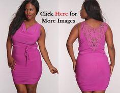 Cheap Plus Size Clubbing Dresses Pink Style | Plus Size Club ...