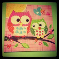 For an owl nursery