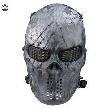 страйкбол пейнтбол тактические Gear CS война игра полного лица череп маска…