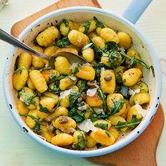 Gnocchi mit Rucolabutter Rezept | Küchengötter