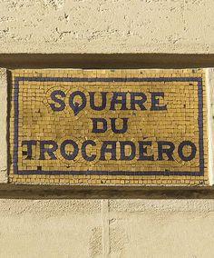 Le square du Trocadéro  (Paris Le 16ème)