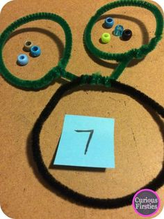 : A Bright Idea For A Part-Part-Whole Manipulative--A quick and easy hands-on manipulative to work on breaking apart and putting together numbers