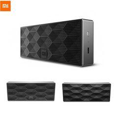 Buy Original Xiaomi Square Portable Wireless Bluetooth 4.0 Speaker 1200mAh Black