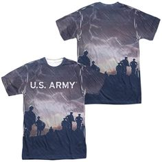 Army - Up Hill Adult All Over Print 100% Poly T-Shirt