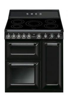 Piano De Cuisson Grand Bleu Falcon Wok En Fonte Piano De - Cuisiniere mixte gaz electrique pour idees de deco de cuisine