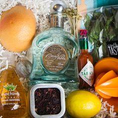 Long Pink & Fresh Harvest Cocktail Kit $65-$130