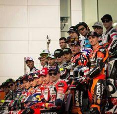 Riders motogp 2014                                  Ahh.. Cute bunch !