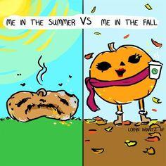 Summer vs fall