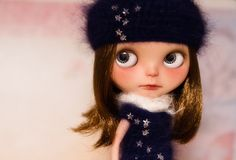 Blythe a Day February 19th ~ Star by jenniferabe, via Flickr