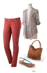 Cute Fall Style from Kohls