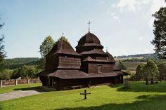 Cerkiew greckokatolicka w Równi.