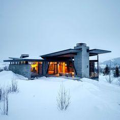 Beautiful modern home .