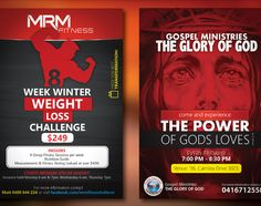 two flyers I made for a client www.logomafia.weebly.com/flyers