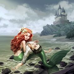 Ariel and Eric - The Little Mermaid