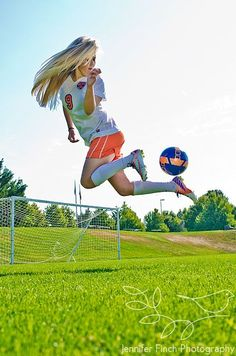 Senior Portrait / Photo / Picture Idea - Soccer