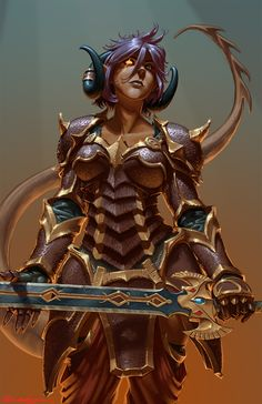 Commission-Credence, Teifling Paladin von BarelynormalActivity on DeviantArt – Tieflings and Qunari and Draenei! Fantasy Races, Fantasy Warrior, Fantasy Rpg, Fantasy Girl, Fantasy Artwork, Dark Fantasy, Tiefling Paladin, Tiefling Female, Female Dragonborn