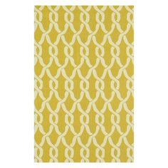 Loloi Venice Beach Indoor / Outdoor Area Rug - Goldenrod / Ivory - VENIVB-08GEIV2339