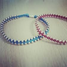 Image result for square knot bracelet with charm