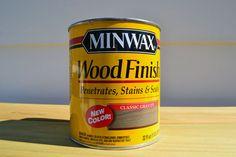 Minwax Gray Stain