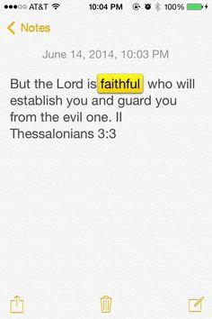 #The Word#Faihful