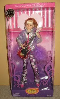 Only Hearts Club Doll Heart Rock Star Karina Grace in Purple New in Box | eBay
