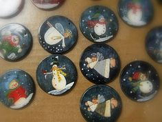 painted poker chips...Yes!  Now I just need to find them!