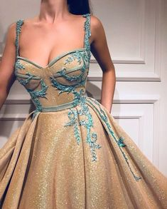 Spaghetti Straps Prom Dress, A-line Sweetheart Quinceanera Dresses - Evening Dresses Models Straps Prom Dresses, Gold Prom Dresses, Ball Gown Dresses, Quinceanera Dresses, Evening Dresses, Maxi Dresses, Wedding Dresses, Long Dresses, Prom Dresses Spaghetti Strap