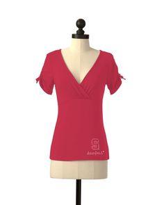 Stanford Cardinal   Team Tie Sleeve Tee   meesh & mia