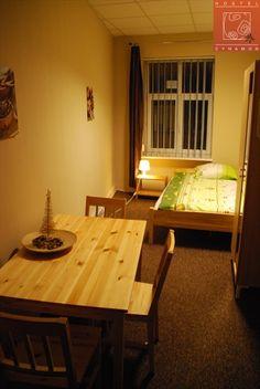 Pokój w świątecznym wystroju. Hostel Łódź