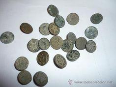 varios botones militares o civiles muy antiguos.de excavación - Foto 1