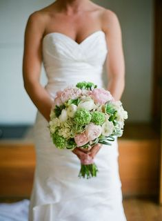 more green for bridesmaids and more pink for me?!