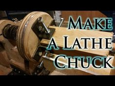 How to Make a Lathe Chuck - YouTube
